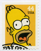 USA - 2009: shows Homer Jay Simpson — Stock Photo