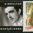 GIBRALTAR - 1995: shows Vittorio De Sica (1901-1974), director, actor — Stock Photo #18760193
