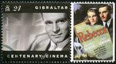 Gibraltar - 1995: muestra laurence olivier (1907-1989), actor, director y productor — Foto de Stock