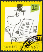 FINLAND - 2009: shows Moomin characters — Foto Stock