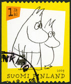 FINLAND - 2009: shows Moomin characters — Stock Photo