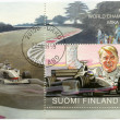 FINLAND - 1999: shows Mika Hakkinen, Formula 1 Driving Champion 1998 — Stock Photo