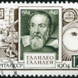USSR - 1964: shows Galileo Galilei (1564-1642), 400th birth anniversary — Stock Photo