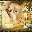 INDIA - 2011: shows Rabindranath Tagore (1861-1941), Indian poet — Stock Photo #19405251