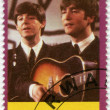 RWANDA - 2009: shows The Beatles, John Lennon and Paul McCartney — Stockfoto