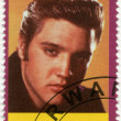 RWANDA - 2009: shows Elvis Aaron Presley (1935-1977) — Stock Photo
