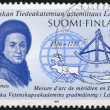 FINLAND - 1986: shows Pierre-Louis Moreau de Maupertuis (1698-17 — Stock Photo