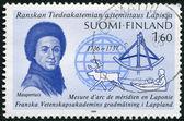 FINLAND - 1986: shows Pierre-Louis Moreau de Maupertuis (1698-17 — Stock Photo