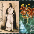 INDIA - 2011: shows Rabindranath Tagore (1861-1941), Indian poet — Stock Photo