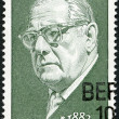 GERMANY - 1972: shows JJohannes Tralow (1882-1968), playwright — Stock Photo