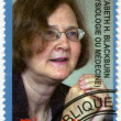 Stock Photo: CONGO - 2010: shows Elizabeth Helen Blackburn, series Nobel Prize winners