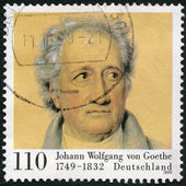 Germania-1999: spettacoli di johann wolfgang von goethe (1749-1832), poeta — Foto Stock