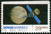 USA - 1991: shows Venus, Mariner 2, Space Exploration Series — Stock Photo