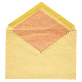 Old post envelope — Stock Photo