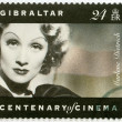 Постер, плакат: GIBRALTAR 1995: shows Marlene Dietrich 1901 1992 actress and singer