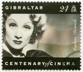 GIBRALTAR - 1995: shows Marlene Dietrich (1901-1992), actress and singer — Stockfoto