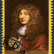 RWANDA - 2009: shows portrait of Christiaan Huygens (1629-1695) — Stock Photo