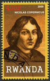 RWANDA - 2009: shows portrait of Nicolaus Copernicus (1473-1543) — Stock Photo