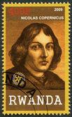RWANDA - 2009: shows portrait of Nicolaus Copernicus (1473-1543) — Stock Photo
