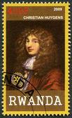RWANDA - 2009: shows portrait of Christiaan Huygens (1629-1695) — Stock Photo