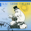 FINLAND - 2007: shows Moominpappa, Moomin characters - Stock Photo
