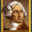 RWANDA - 2009: shows portrait of Antoine Lavoisier(1743-1794) - Stock fotografie