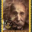 Постер, плакат: RWANDA 2009: shows portrait Albert Einstein 1879 1955