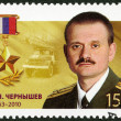 Stock Photo: RUSSI- 2013: shows Chernychev Evgeny Nikolaevich (1963-2010), series Heroes of RussiFederation