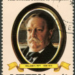 LIBERIA - 1982: shows President William H. Taft (1909-1913), series the Presidents of the USA - Stock fotografie