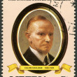 LIBERIA - 1982: shows President Calvin Coolidge (1923-1929), series the Presidents of the USA - Stock fotografie