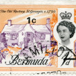 Постер, плакат: BERMUDA 1962: shows The Old Rectory St Georges 1730