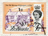 BERMUDA - 1962: shows The Old Rectory, St. Georges, 1730 — Stock Photo