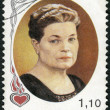 FINLAND - 1980: shows Maria Jotuni (1880-1943), Writer - Stock Photo