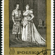 "POLAND - 1972: shows Scene from Opera by Moniuszko: ""The Countess"" — Stock Photo"