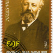 Постер, плакат: DJIBOUTI 2010: shows Jules Verne 1828 1905