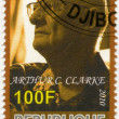 DJIBOUTI - 2010: shows Arthur C. Clarke (1917-2008) — Stock Photo