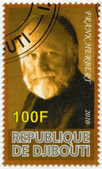 DJIBOUTI - 2010: shows Frank Herbert (1920-1986) — Foto Stock
