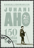 FINLAND - 2011: shows 150th Anniversary of Juhani Aho (1861-1921) — Stock Photo