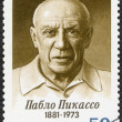 USSR - 1981: shows  Birth Centenary of Pablo Picasso (1881-1973), artist — Stock Photo