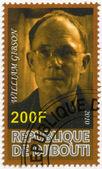 DJIBOUTI - 2010: shows William Gibson (born 1948) — Stock Photo