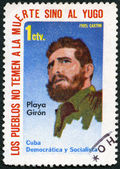 Cuba - 1962: espectáculos Fidel Castro — Foto de Stock