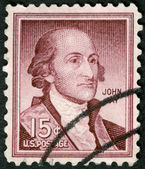 USA - 1958: shows Portrait John Jay (1745-1829) — Stock Photo