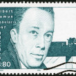 SWEDEN - 1990: shows Albert Camus, Nobel Laureate in Literature, 1957 — Stock Photo