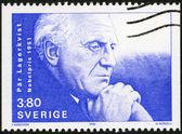 SWEDEN - 1990: shows Par Lagerkvist, Nobel Laureate in Literature, 1951 — Stock Photo