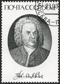 USSR - 1985: shows Johann Sebastian Bach (1685-1750), Composer — Stock Photo