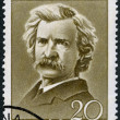 ROMANIA - 1960: shows Mark Twain (1835-1910) - Foto Stock