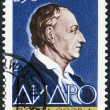 USSR - 1963: shows Denis Diderot (1713-1784), French philosopher and encyclopedist - Stock Photo