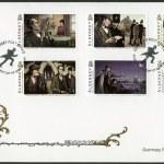 Постер, плакат: ALDERNEY 2009: shows Sherlock Holmes