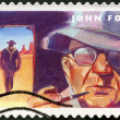 USA - 2012: shows portrait of John Ford (1894-1973), scene from The Searchers - Foto Stock