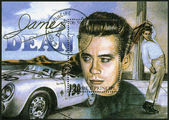 ST. THOMAS AND PRINCE ISLANDS - 1994: shows James Dean (1931-1955) — Stock Photo